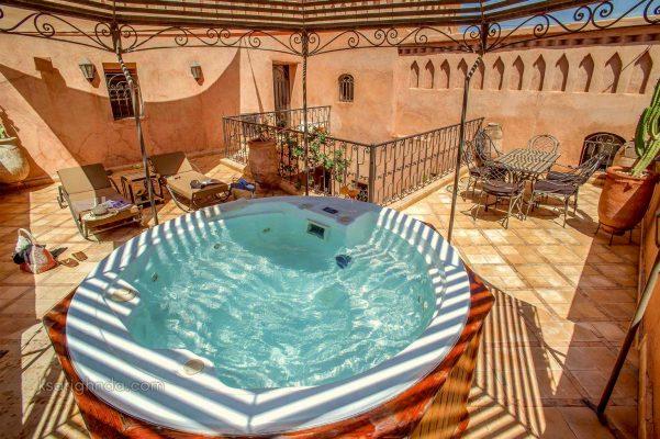 Hôtel ksar Ighnda Piscine