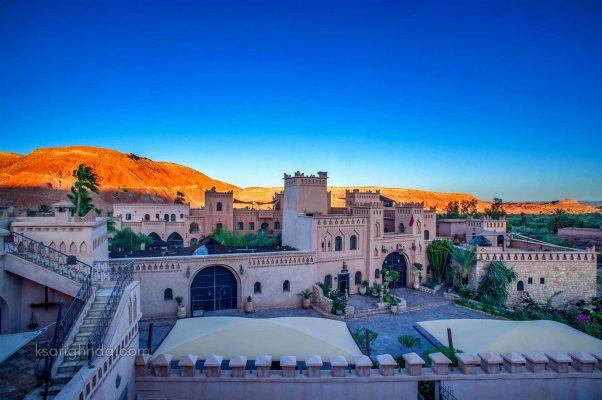 paysage Hôtel ksar Ighnda
