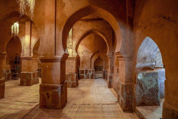 Intérieur de l'Hôtel ksar Ighnda