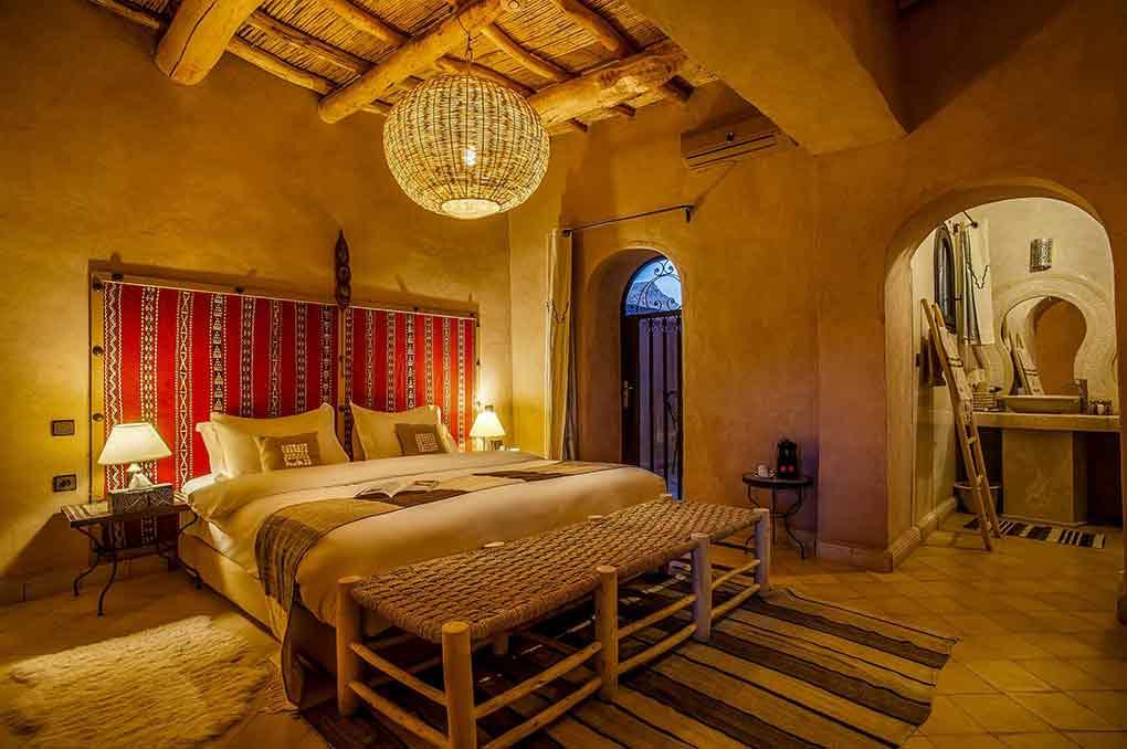Décoration chambre - Ksar Ighnda Ouarzazate