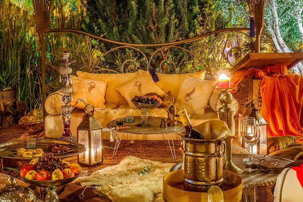 Jardin ksar ighnda Ouarzazate