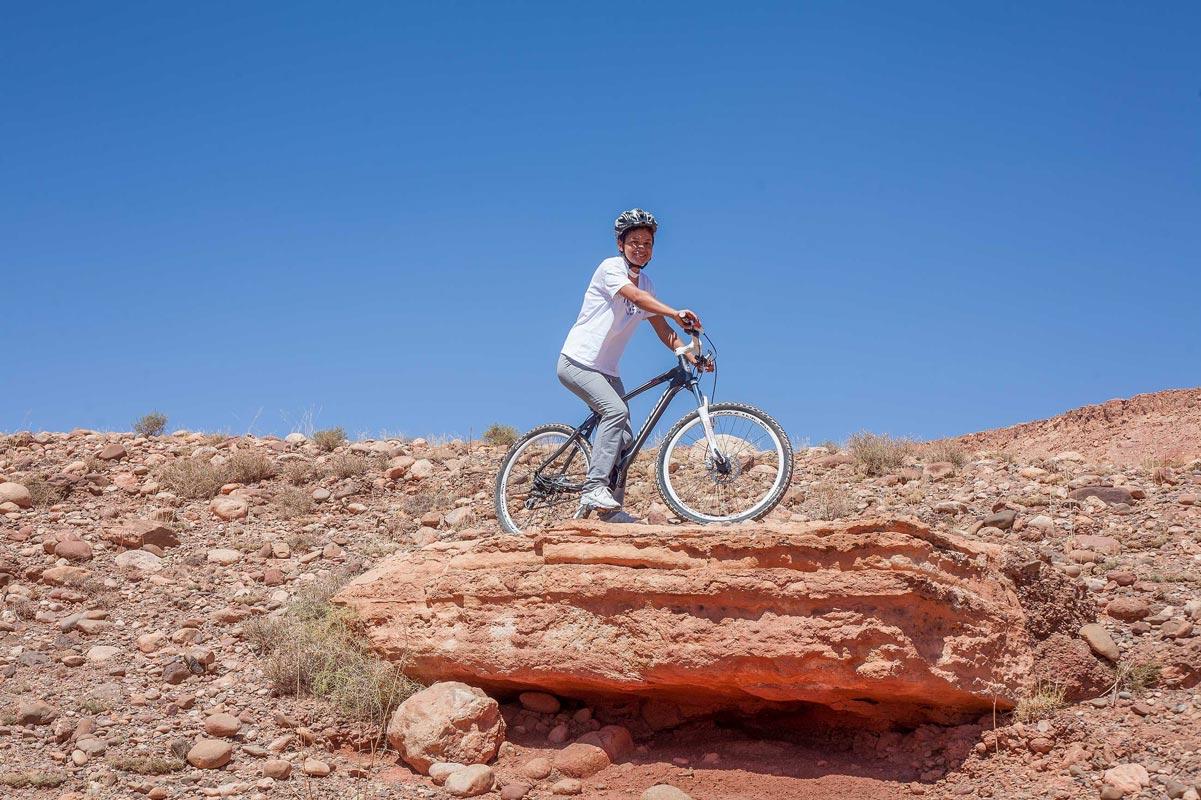Activité en vélo - Hôtel Ksar Ighnda Ouarzazate
