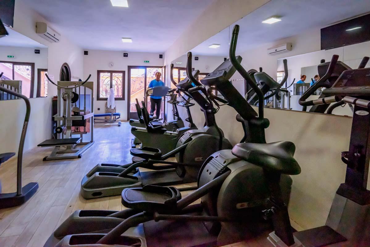 Salle de sport - Hôtel Ksar Ighnda Ouarzazate
