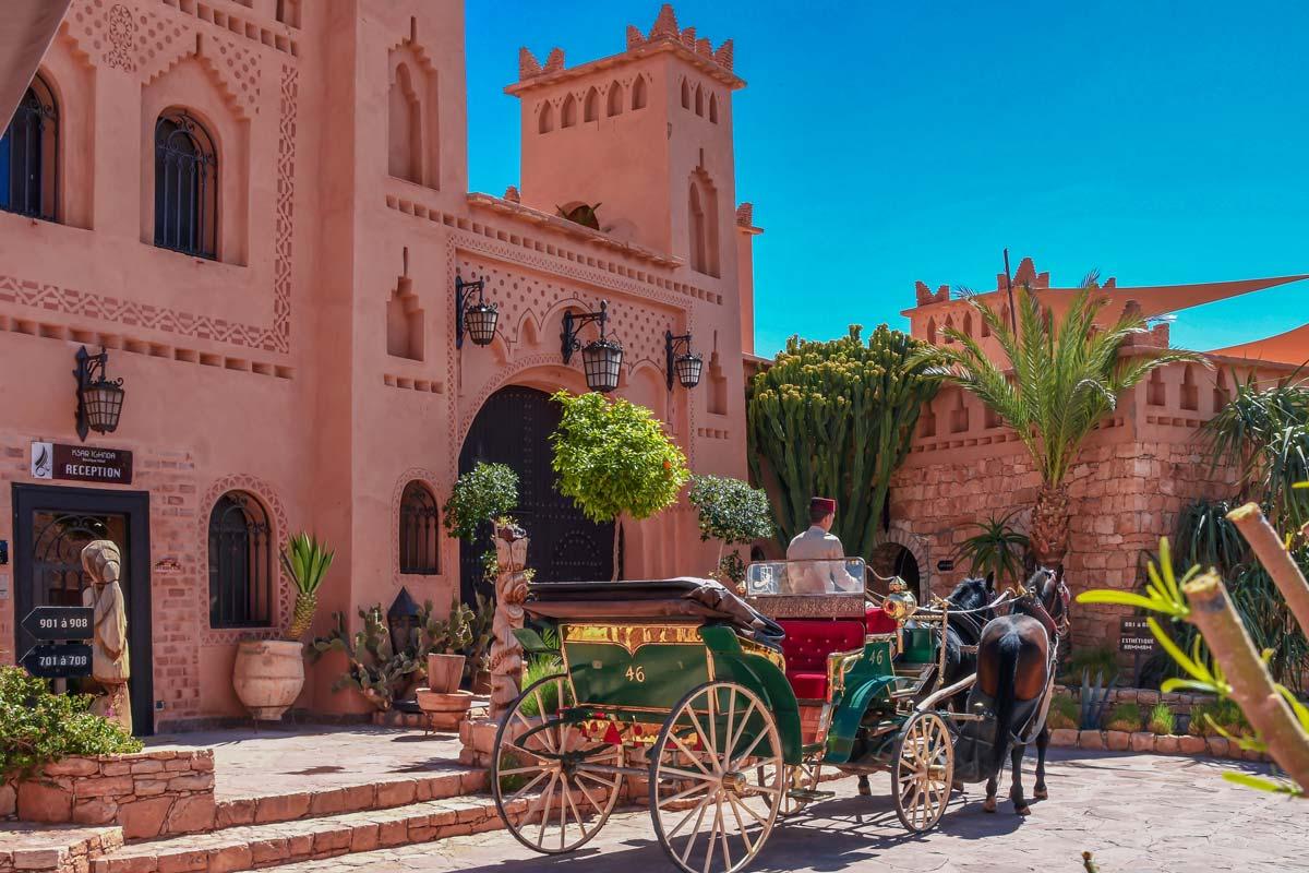 Balade en calèche à Ouarzazate