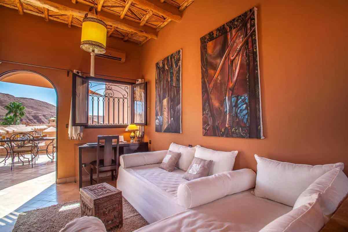 Chambre supérieure - Ksar Ighnda Ouarzazate Maroc