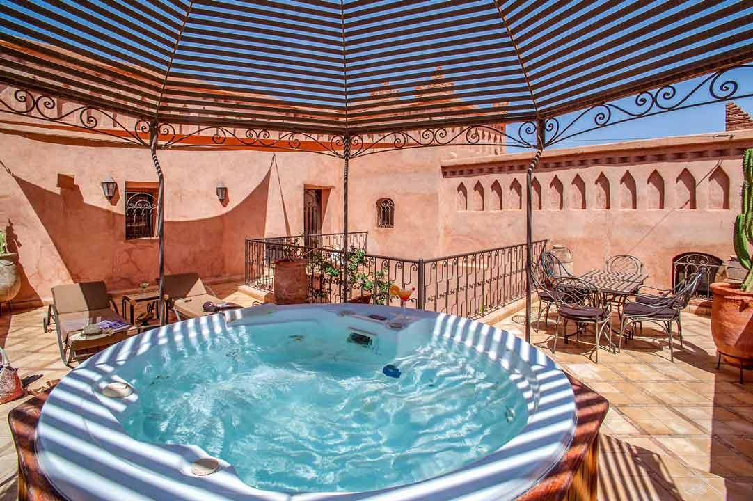Chambre supérieure - Riad Ksar ighnda Ouarzazate