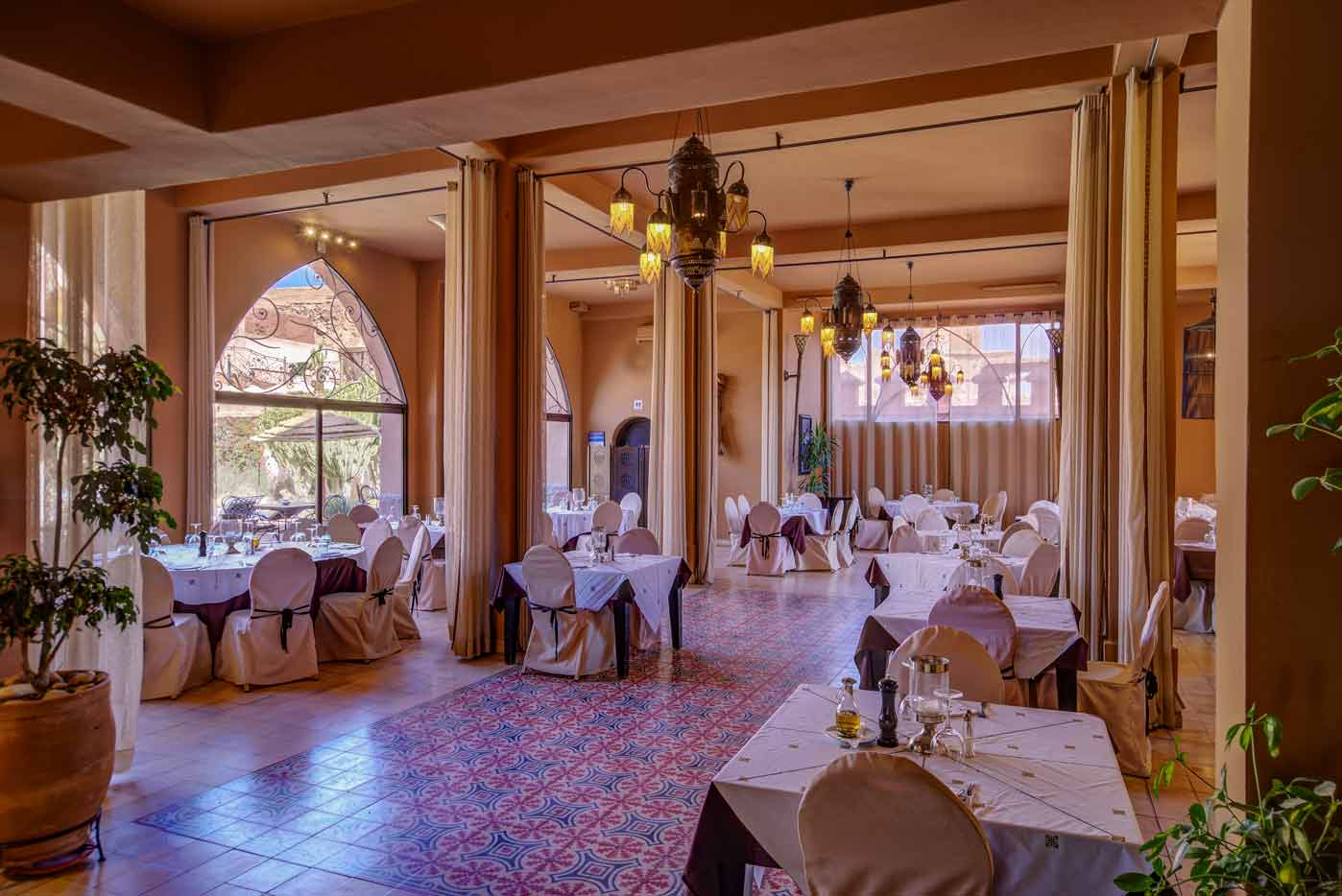 Restaurant - Ksar Ighnda Ouarzazate Maroc