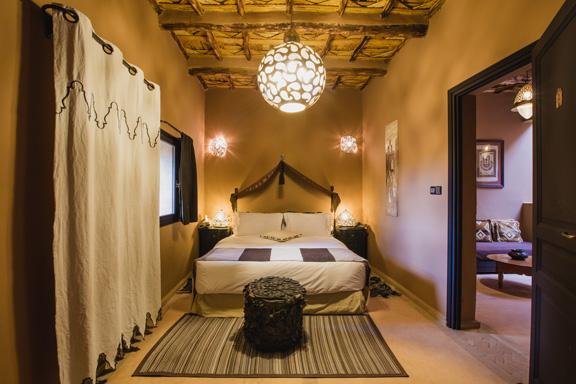 chambre standard à l'hôtel ksar Ighnda