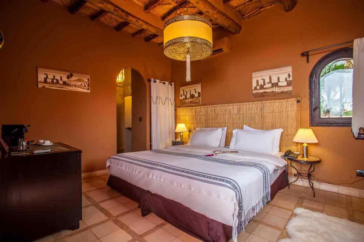 chambre standard - ksar Ighnda Maroc
