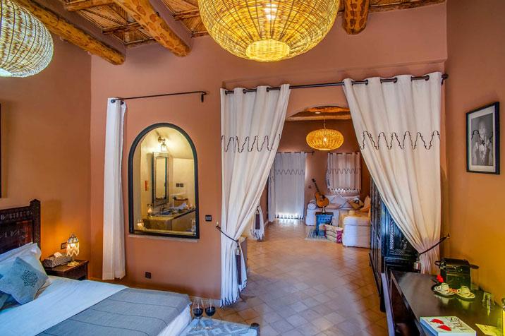 Suite - Hôtel Ksar Ighnda Maroc